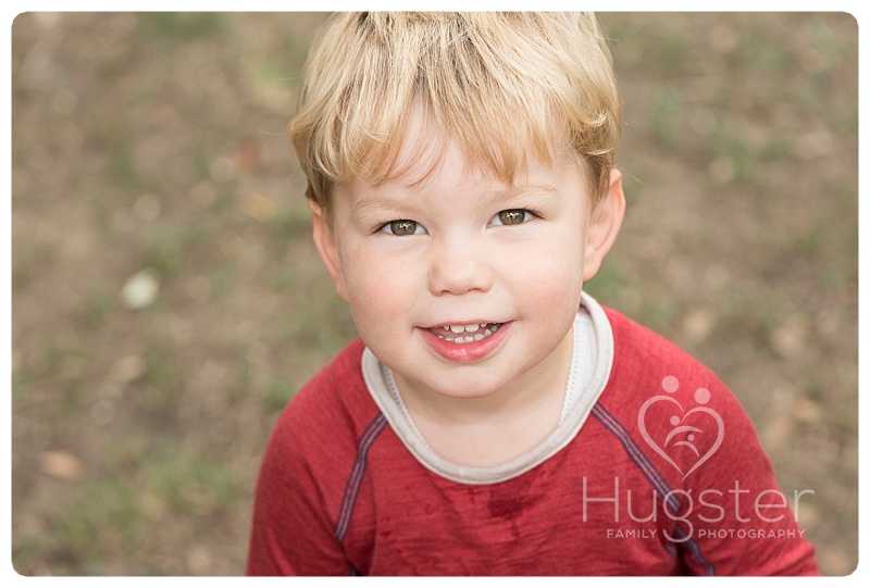 Cute Kid with Brown Eyes
