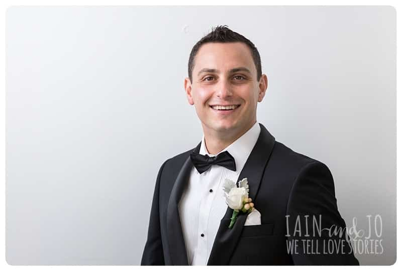 Solo Picture of the Groom