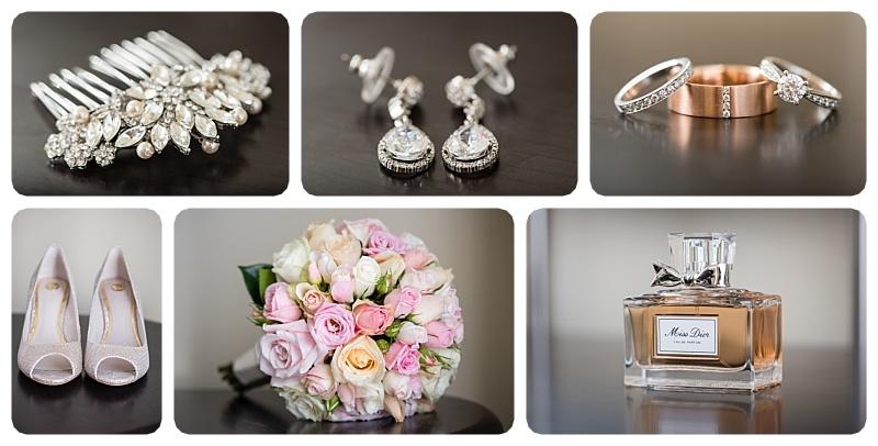 Wedding Accessories During Preparation