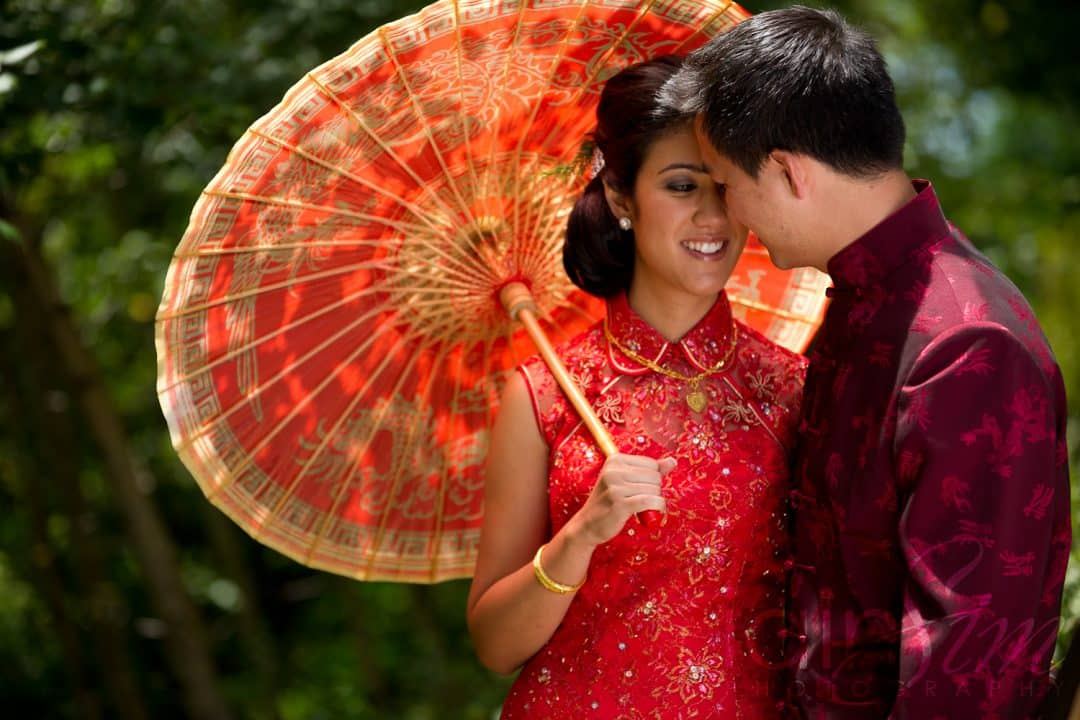 Chinese Outdoor Wedding Photography
