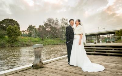 Bill and Eska's wedding at Leonda by the Yarra