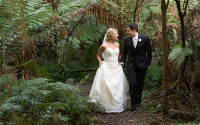 Jess and Dave's Lyrebird Falls Wedding