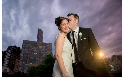 Stacey and Luke's Melbourne CBD Wedding