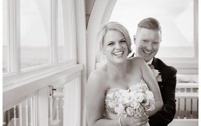 Alysha and Jason's St Kilda Pier Wedding