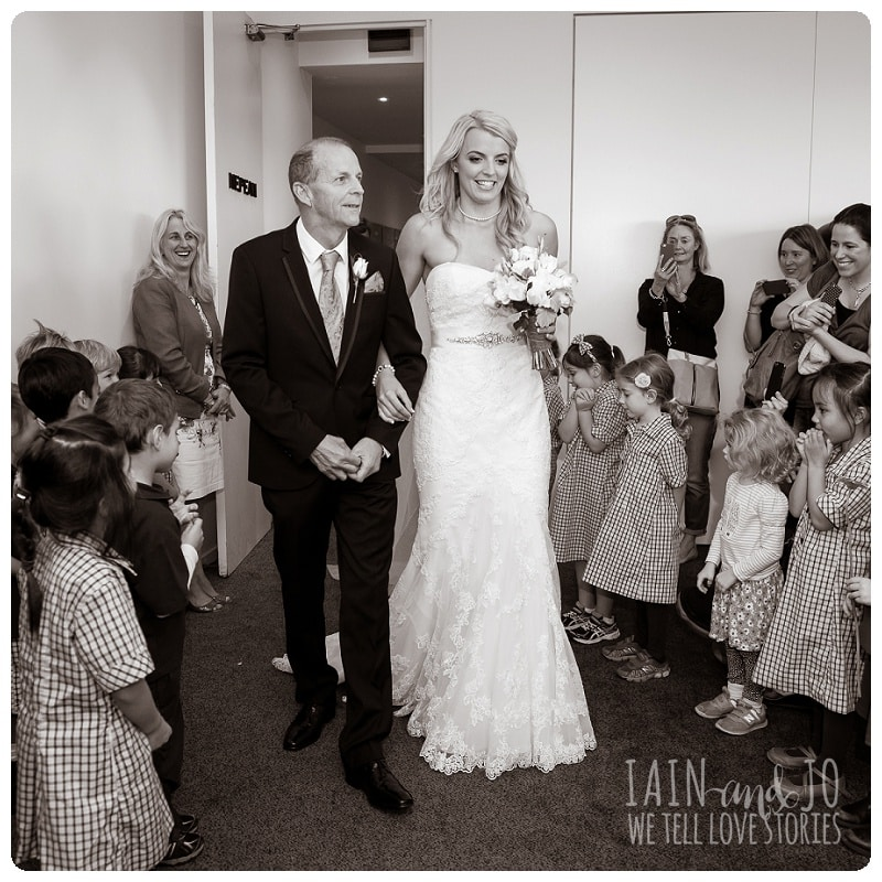 Kate and Cory's Mordialloc Wedding by Iain and Jo