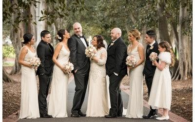 Shereen and Bradley's Leonda by the Yarra Wedding