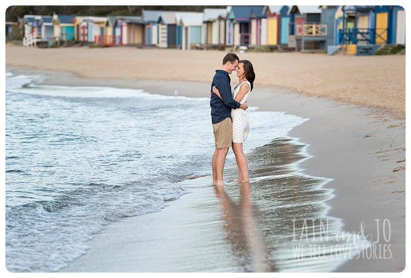 Natural Elegant Beach Engagement Portrait Beloved Fun Couple Wedding Iain Sim Jo Love Stories Park Melbourne