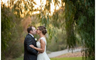 Nicole and James' Leonda by the Yarra Wedding