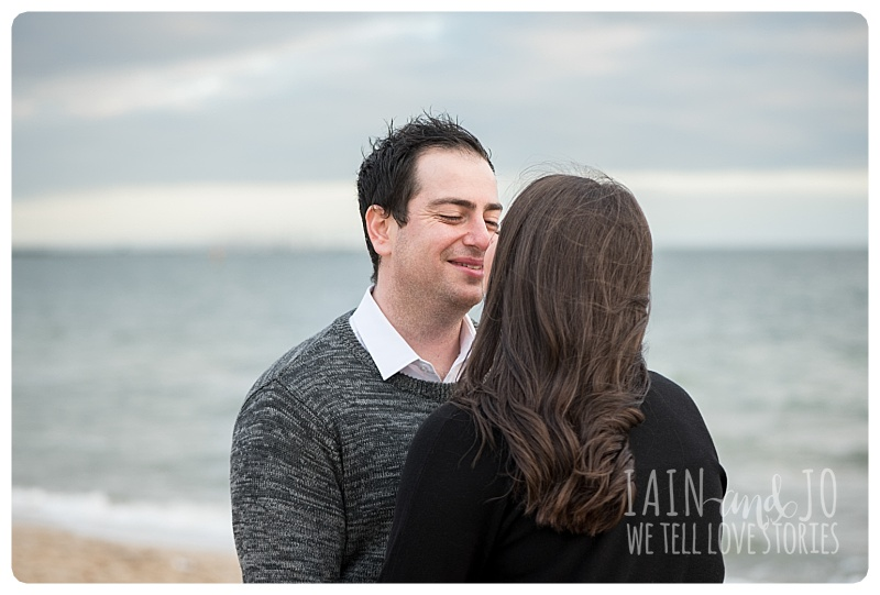 Natural Elegant Beach Engagement Portrait Beloved Fun Couple Wedding Iain Sim Jo Love Stories Park Melbourne