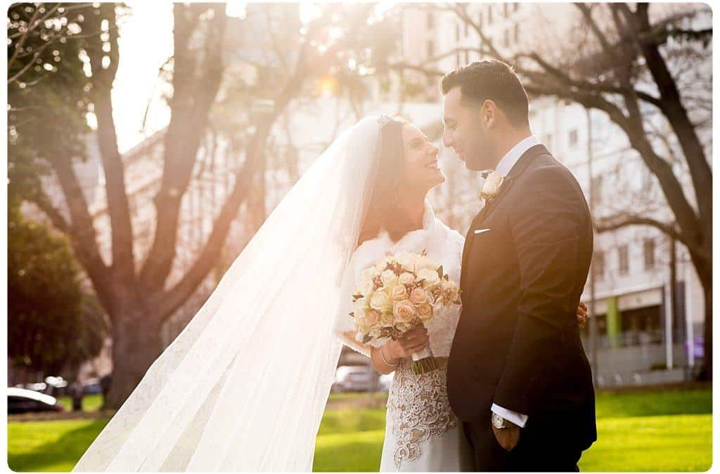Lucy and Anthony's Aerial South Wharf Wedding