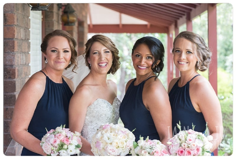 Photo of the Bride with Her Bridesmaids