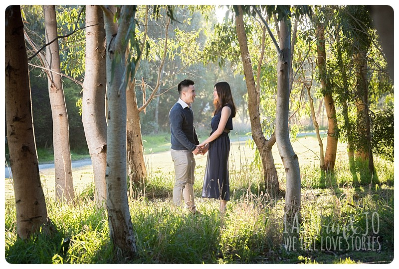 Romantic Photography in the Park
