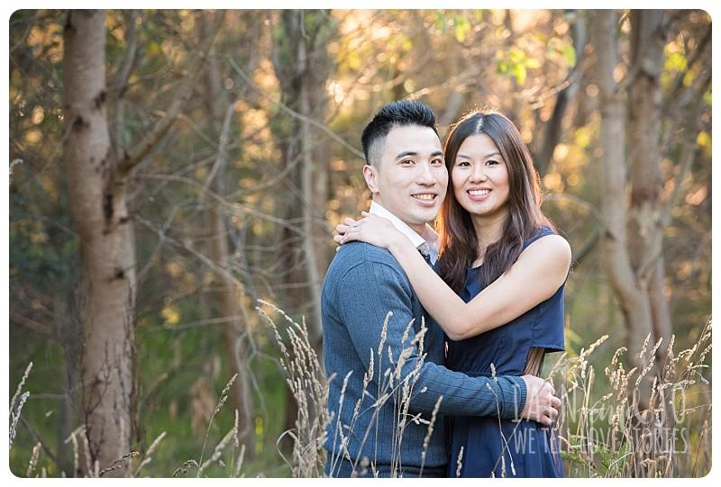 Couple Looking At Camera Shot