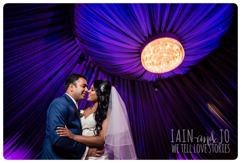 Bride and Groom at San Remo Ballroom