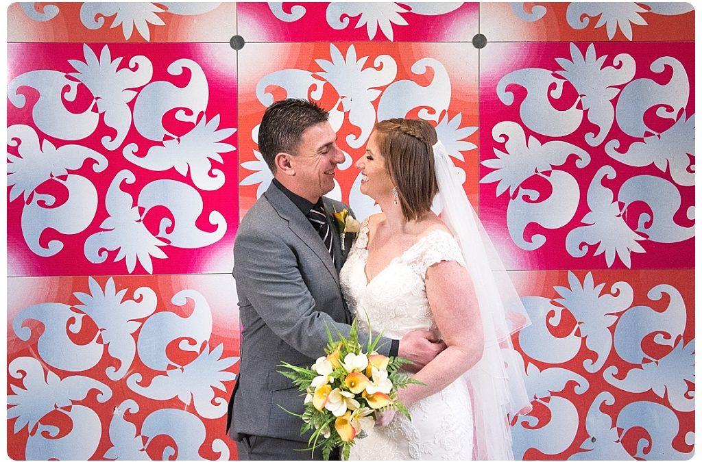 Loren and Brett's All Smiles Docklands Wedding