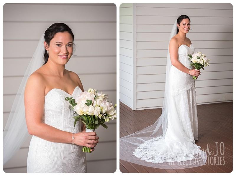 Full length bride