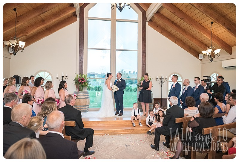Wedding ceremony at Immerse