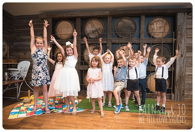 Wedding kids room