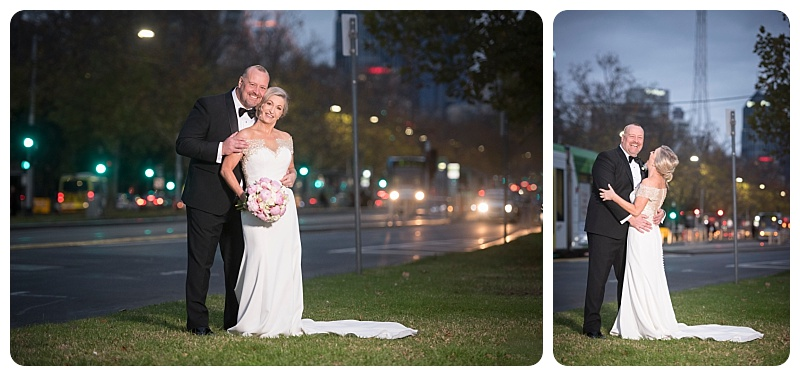 City wedding photos