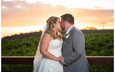 Sarah and Jeremy's Vines of the Yarra Valley Wedding
