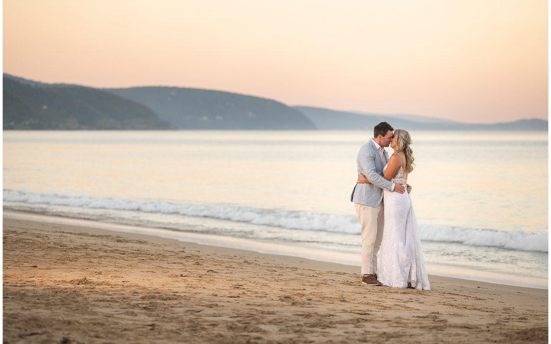 Alicia and Shane's Lorne Wedding