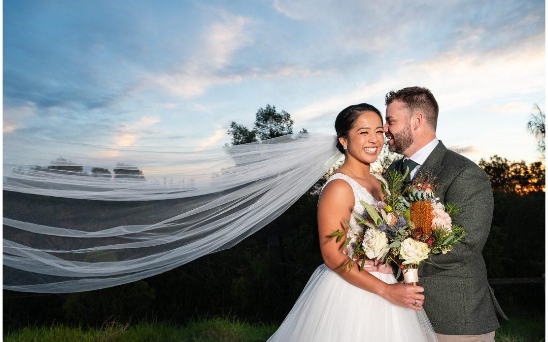 Rhea and David's The Wool Mill Wedding
