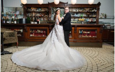Maddy and Hayden's National Wine Centre Wedding